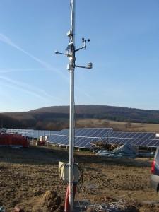 statie adcon pentru radiatie fotovoltaica